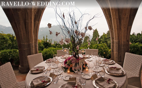 Ravello Wedding Planner | Decor and design